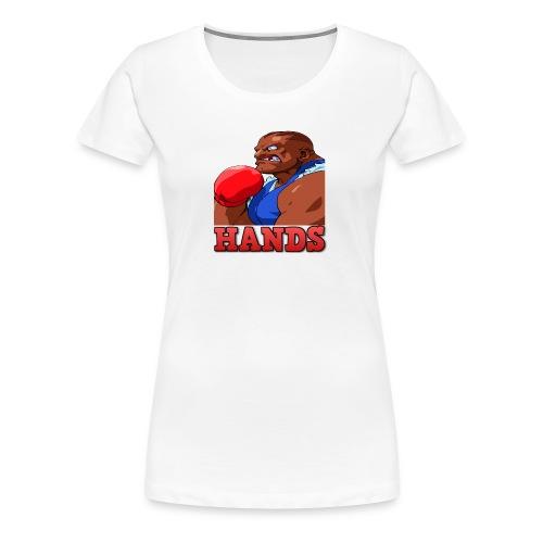 Balrog hands - Women's Premium T-Shirt