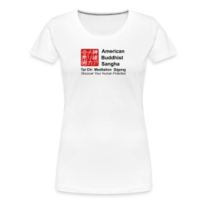 American Buddhist Sangha and Zen Do USA - Women's Premium T-Shirt