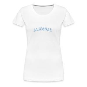spelmanAlumnae6 - Women's Premium T-Shirt