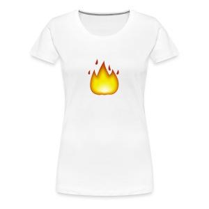 fire 2 - Women's Premium T-Shirt