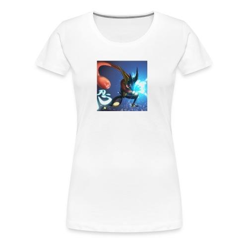 Blue ninja t shirt - Women's Premium T-Shirt