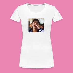 如花 baby - Women's Premium T-Shirt