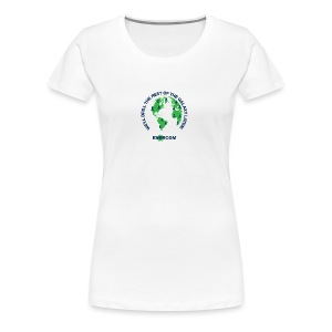 TEARTH FIRST BACK SIDE - Women's Premium T-Shirt