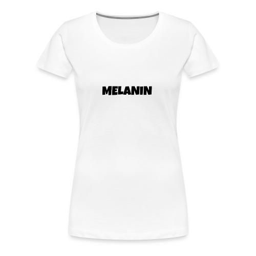 Melanin #PandaDESIGNS - Women's Premium T-Shirt