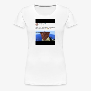 North Korea Dosent know how ther messin whit - Women's Premium T-Shirt