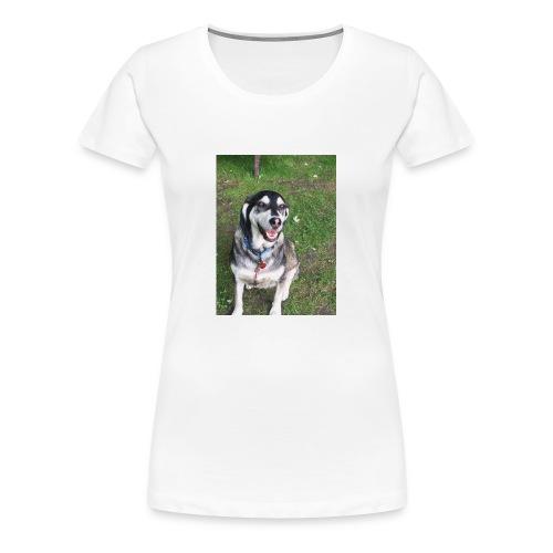 Happy Dog - Women's Premium T-Shirt