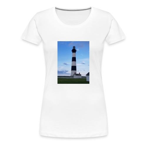 Boodie Lighthouse - Women's Premium T-Shirt