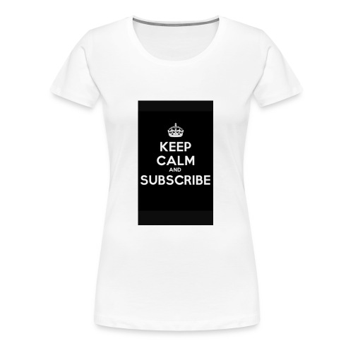 Keep calm merch - Women's Premium T-Shirt