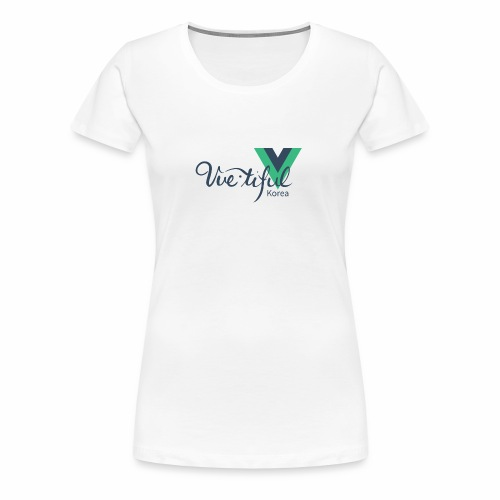Vuetiful Korea - Women's Premium T-Shirt