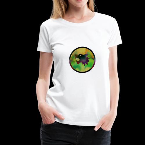 Disco Wolf - Women's Premium T-Shirt