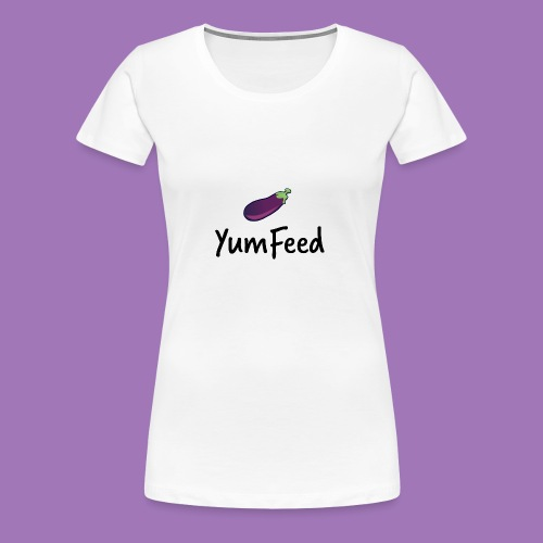 YumFeed logo - Women's Premium T-Shirt