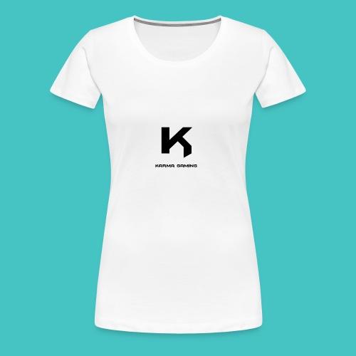 karma_gaming_logo - Women's Premium T-Shirt