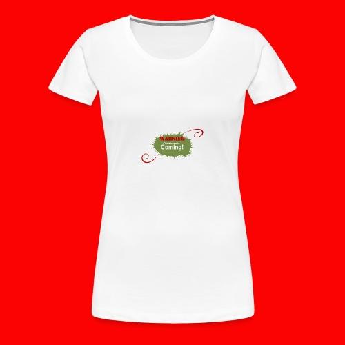 Christmas_is_Coming - Women's Premium T-Shirt