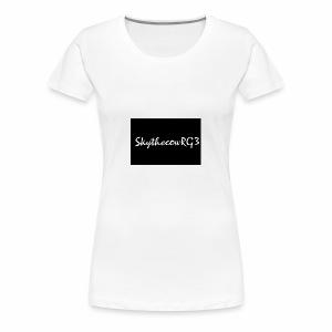 SkythecowRG3 Hoodie - Women's Premium T-Shirt