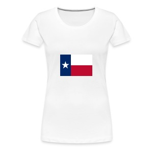 2000px Flag of Texas svg - Women's Premium T-Shirt