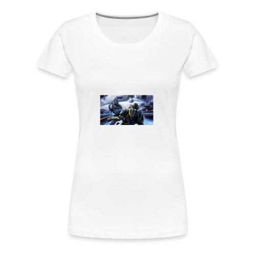 halo - Women's Premium T-Shirt