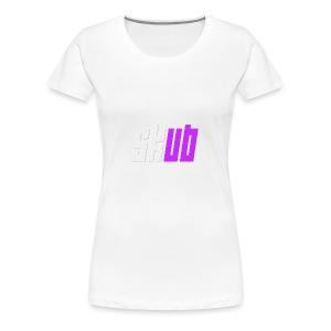 SKUB logo - Women's Premium T-Shirt