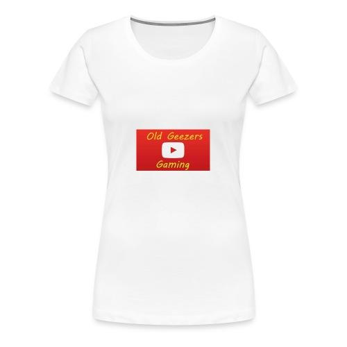 Old Geezers Gaming - Women's Premium T-Shirt