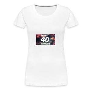 Lankydiscmaster's 40 subs shirt and more - Women's Premium T-Shirt