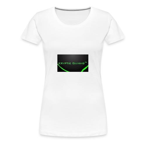 Kryptic Gaming Classic Design - Women's Premium T-Shirt
