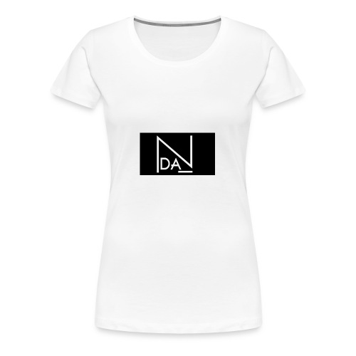 DAN Talent Group - BLACK BACK GROUND - Women's Premium T-Shirt