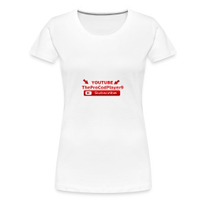 YOUTUBE TheProCodPlayer9 - Women's Premium T-Shirt