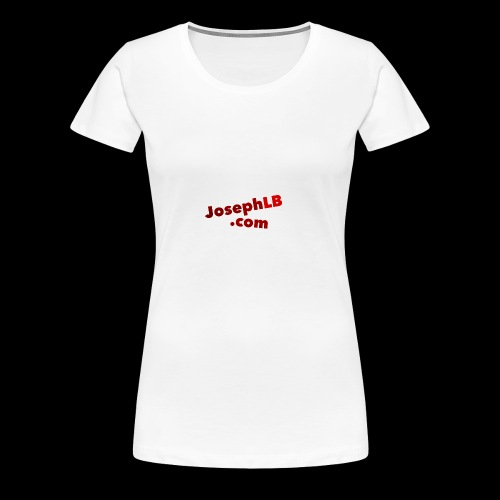 josephlb.com Gear - Women's Premium T-Shirt