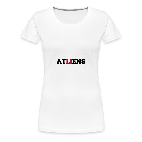 ATLIENS - Women's Premium T-Shirt