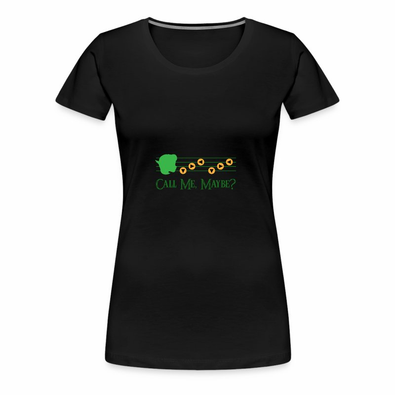 Saria Call Me Maybe? - Women's Premium T-Shirt