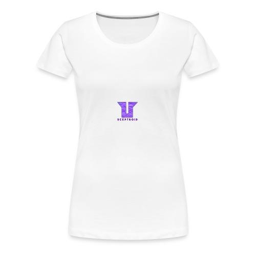 Old ScepTroid Logo Sweatshirt! - Women's Premium T-Shirt