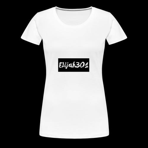 Elijah301BlackLogo - Women's Premium T-Shirt