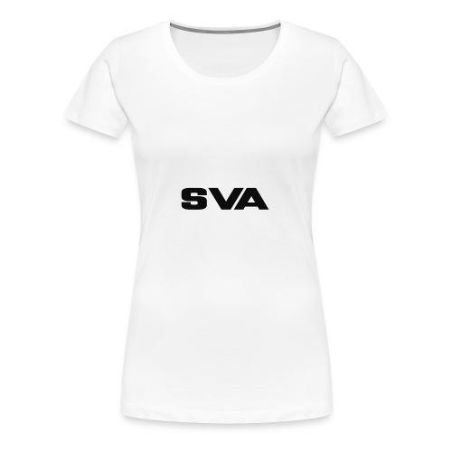 SVAlogoblack - Women's Premium T-Shirt