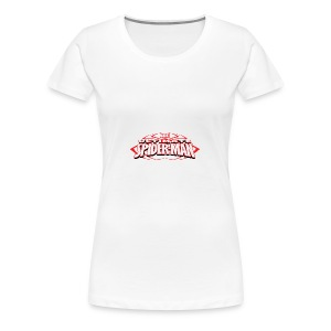 T-shirt with spiderman style - Women's Premium T-Shirt