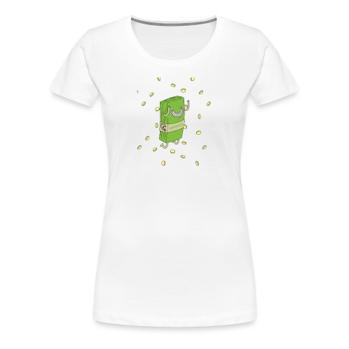 Happy Money - Women's Premium T-Shirt