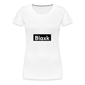 Blaxk Box Logo - Women's Premium T-Shirt