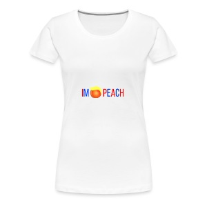 IMPEACH / RED+BLUE - Women's Premium T-Shirt