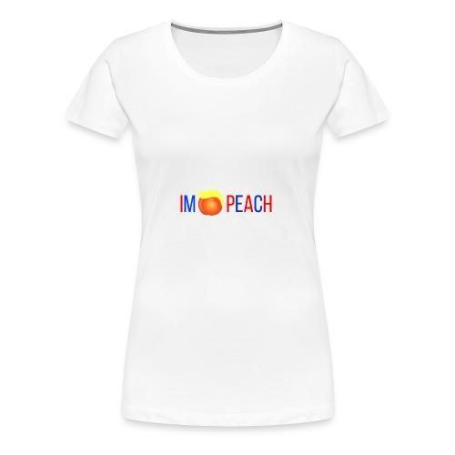 IMPEACH / RED+BLUE - Women's Premium T-Shirt