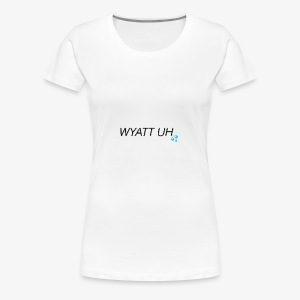 Wyatt Uh - Women's Premium T-Shirt