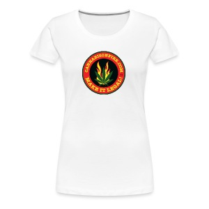 Make Cannabis Legal Cannabis Tshirts 420 wear - Women's Premium T-Shirt
