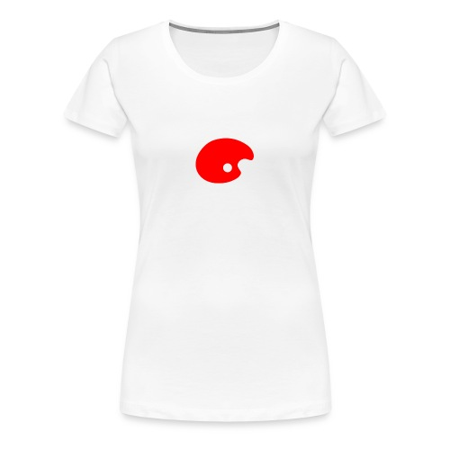 Smudge Red - Women's Premium T-Shirt