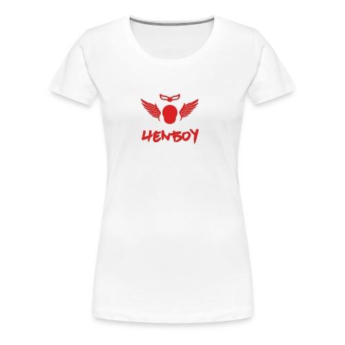 Henboy Logo - Women's Premium T-Shirt