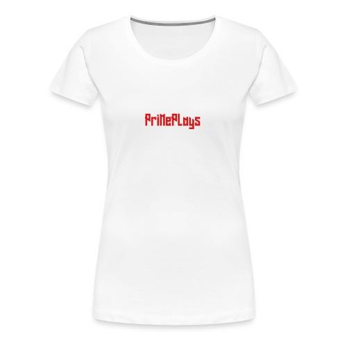 PriMePlays Official First T-Shirt - Women's Premium T-Shirt