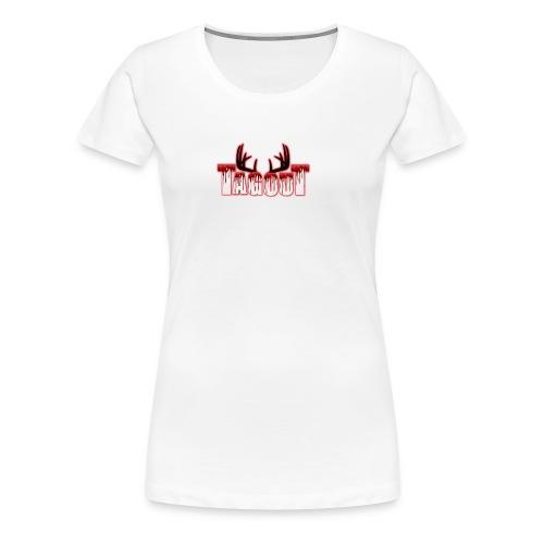 Tagout Bloody Antlers - Women's Premium T-Shirt