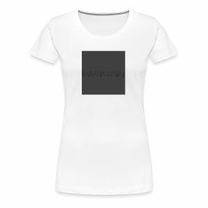 Blackdot grey - Women's Premium T-Shirt