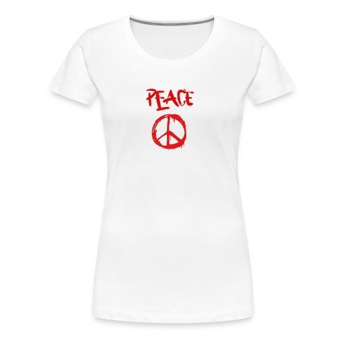 Peace1 - Women's Premium T-Shirt