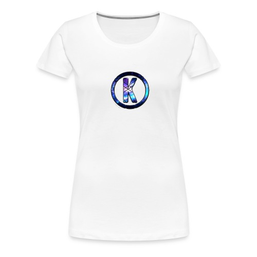 Galaxy K Logo Apparel - Women's Premium T-Shirt