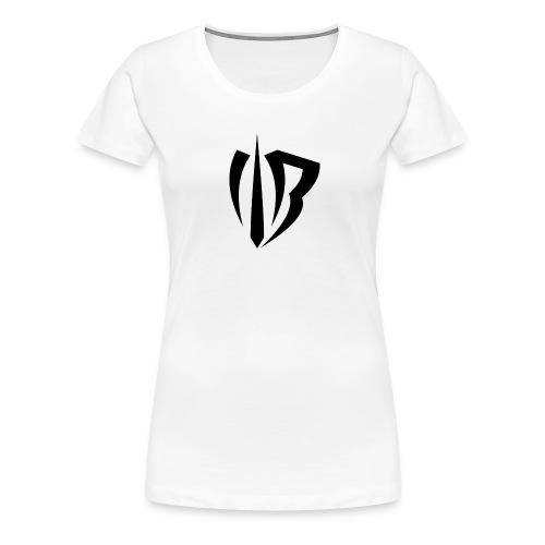 Winged Bandit Logo Black - Women's Premium T-Shirt