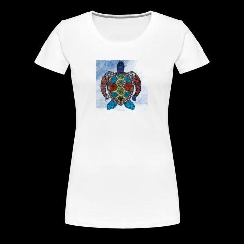 the hurricane turtle - Women's Premium T-Shirt