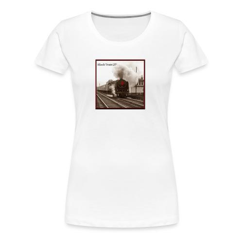 Album Cover BT27 Hi Rez sepia final jpg - Women's Premium T-Shirt