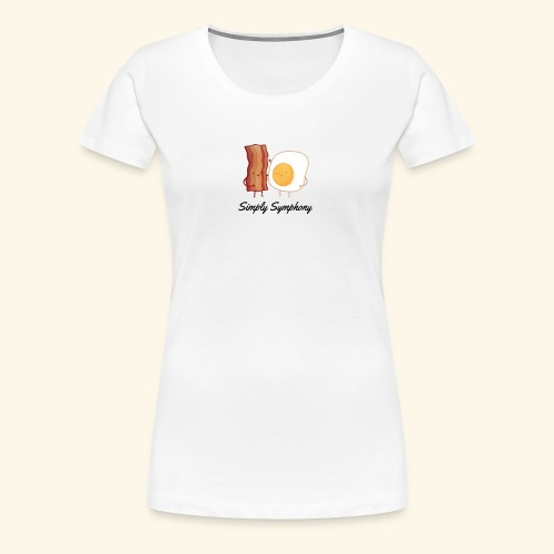 Eggs and bacon - Women's Premium T-Shirt
